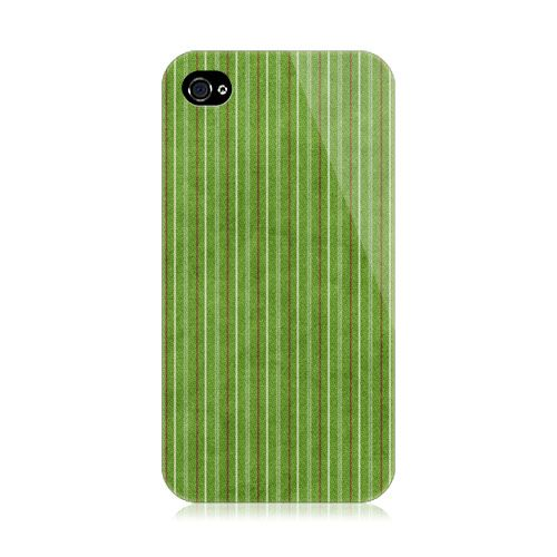 Green Strips iPhone 4/4S Case