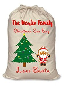 christmas eve bag amazoncouk kitchen home - Christmas Tree Bags Amazon
