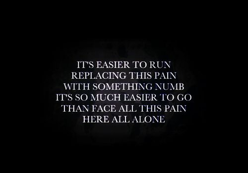Linkin Park - Easier to Run | Lyrics | Linkin park, Lyrics