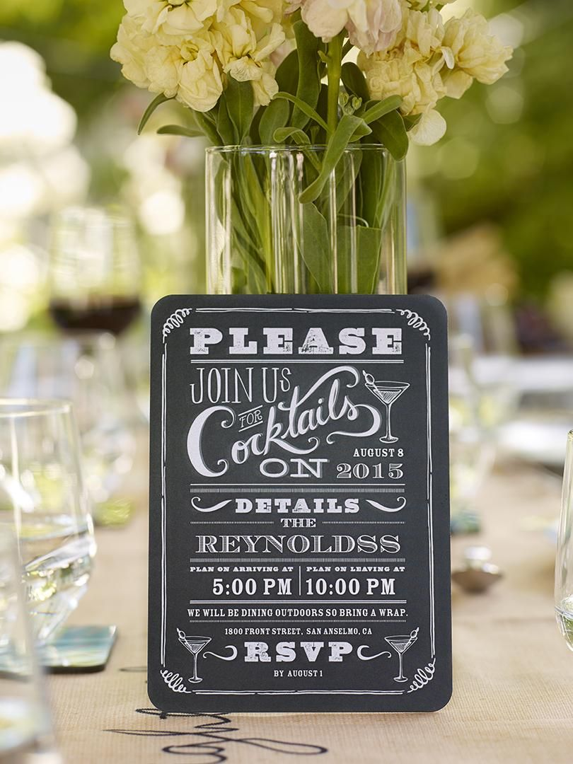 Throw a summer gettogether with personalized party