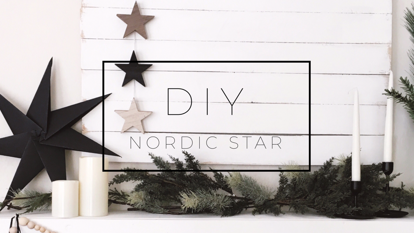 Diy The Dotted Bow Diy Nordic Star Diy Scandinavian Star How To Make A Paper Star Modern Minimal Decor Scandinavian Decor Star Diy Paper Stars Diy Bow
