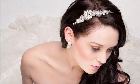Tocado de novia con cintillo  9c03ae412a67