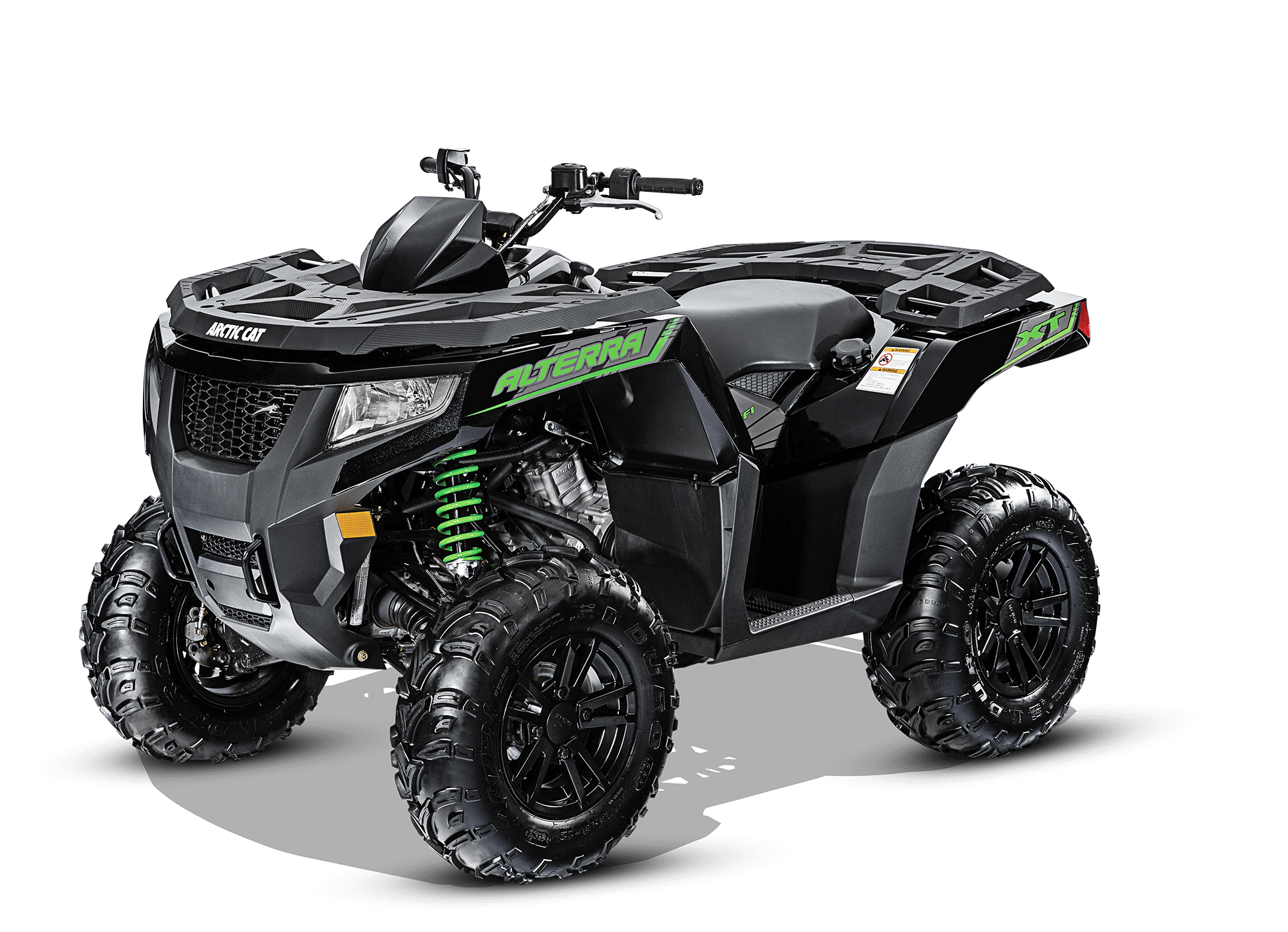 Arctic Cat Alterra 550 XT with a 545 CC, SOHC, 4Stroke, 4