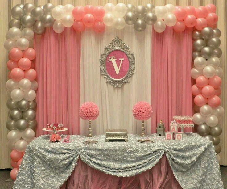 Mesa Principal Baby Shower Decoração Aniversário