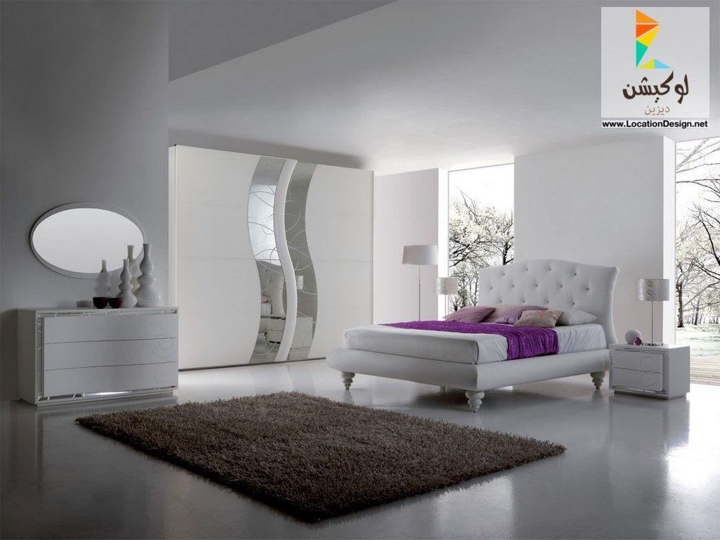 غرف نوم ايطالي 2018 2019 لوكشين ديزين نت Bedroom Bed Design Wardrobe Door Designs Bedroom Decor