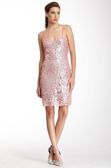 Liquid Light Sequin Sleeveless Dress by Yoana Baraschi on @HauteLook