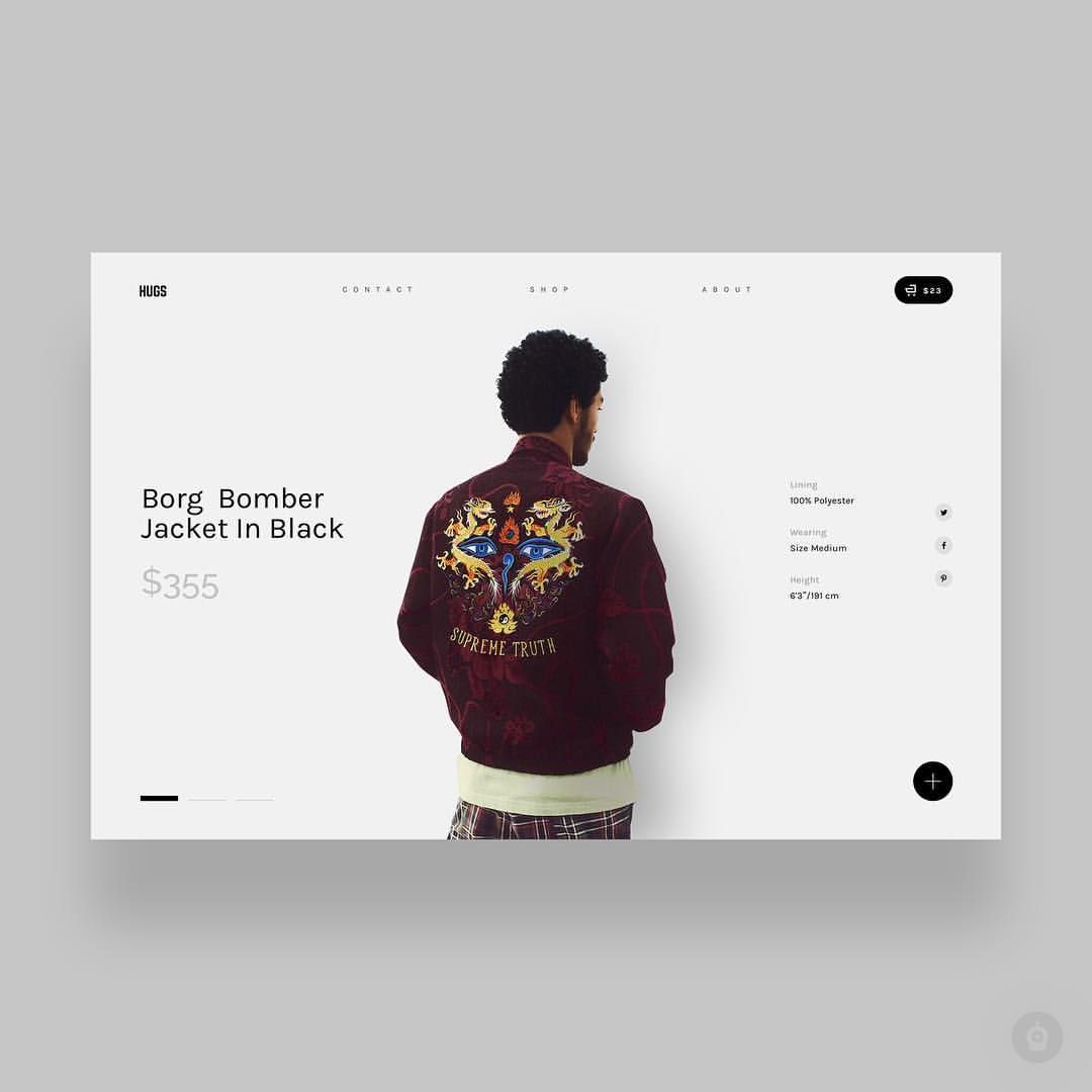 Minimal Storefront By Nick Herasimenka Daily Inspiration In Your Feed Get Featured Tag Your Work With Designbot Or Follow 디자인 포스터 디자인