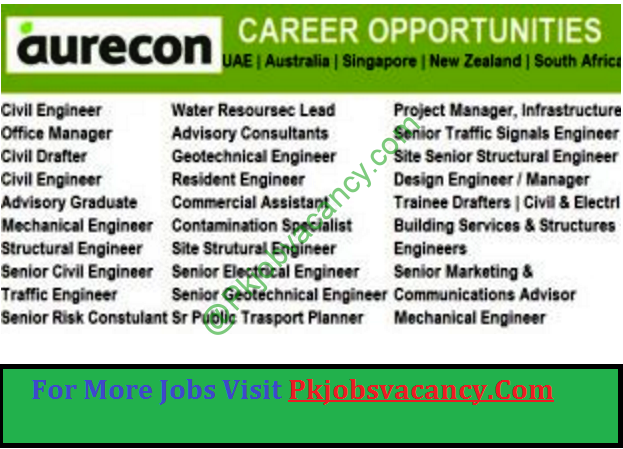 Aurecon Jobs Opening December   New Zealand  South Africa