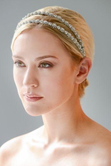 Double Rhinestone Headband