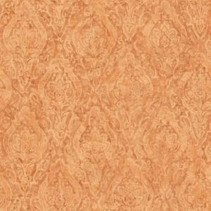 Amazing The Wallpaper Company 8 In X 10 In Orange Damask Wallpaper Interior Design Ideas Skatsoteloinfo