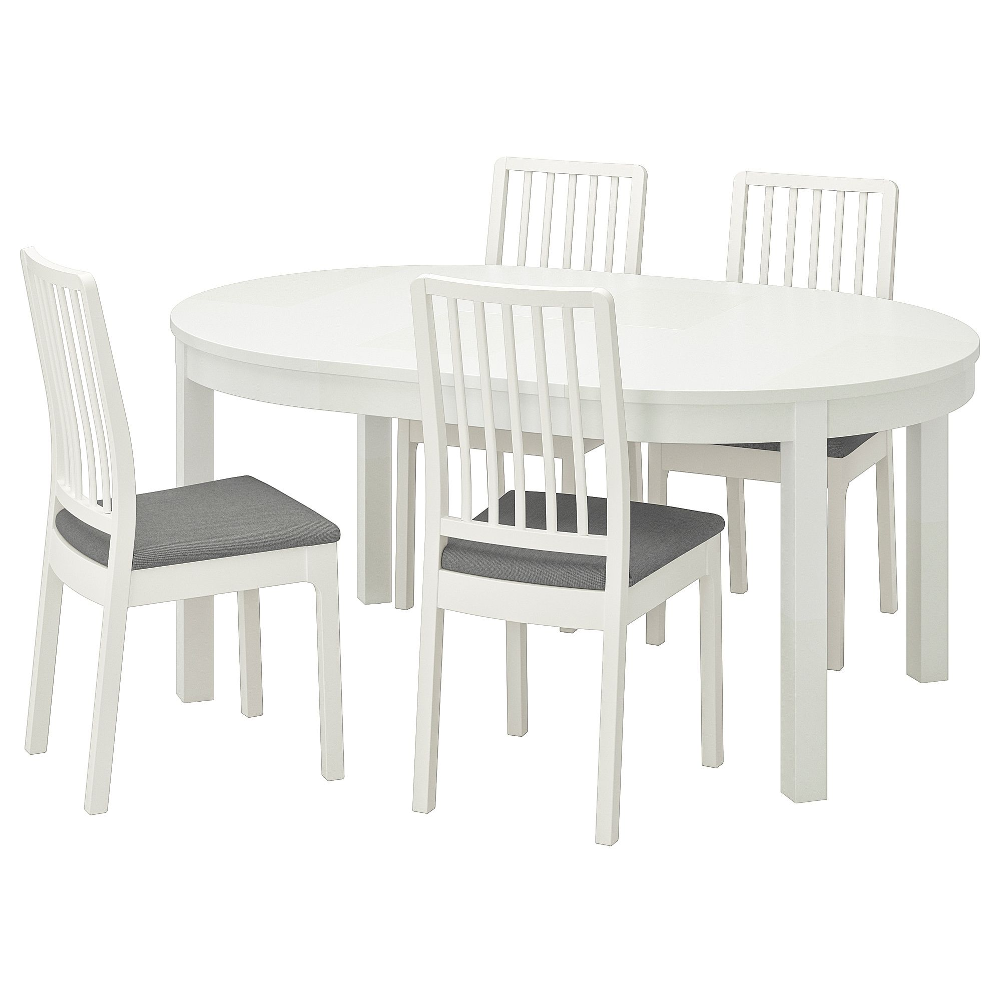 Ikea Bjursta Ekedalen Table And 4 Chairs Dining Table Table