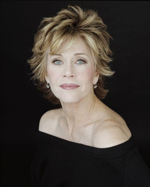 "Jane Fonda, actor, activist & entrepreneur at 74: ""We need to revise how we think of aging. The old paradigm was: You're born, you peak at midlife, and then you decline into decrepitude. Looking at aging as ascending a staircase, you gain well-being, spirit, soul, wisdom, the ability to be truly intimate and a life with intention."""
