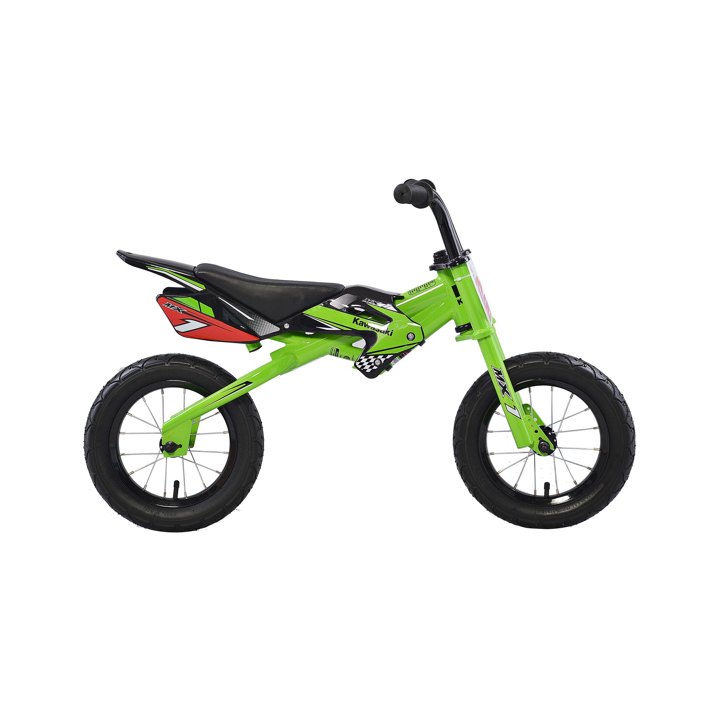Kawasakia Mx1 Running Balance Bicycle 12 Inch Wheels Kid S