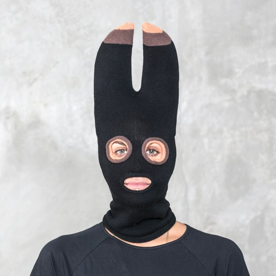 BAT BALACLAVA - Halloween Bat Ears Mask for Men and Women - Snowboarding  Hat - Ski Mask - Bat Costum 1894d209d