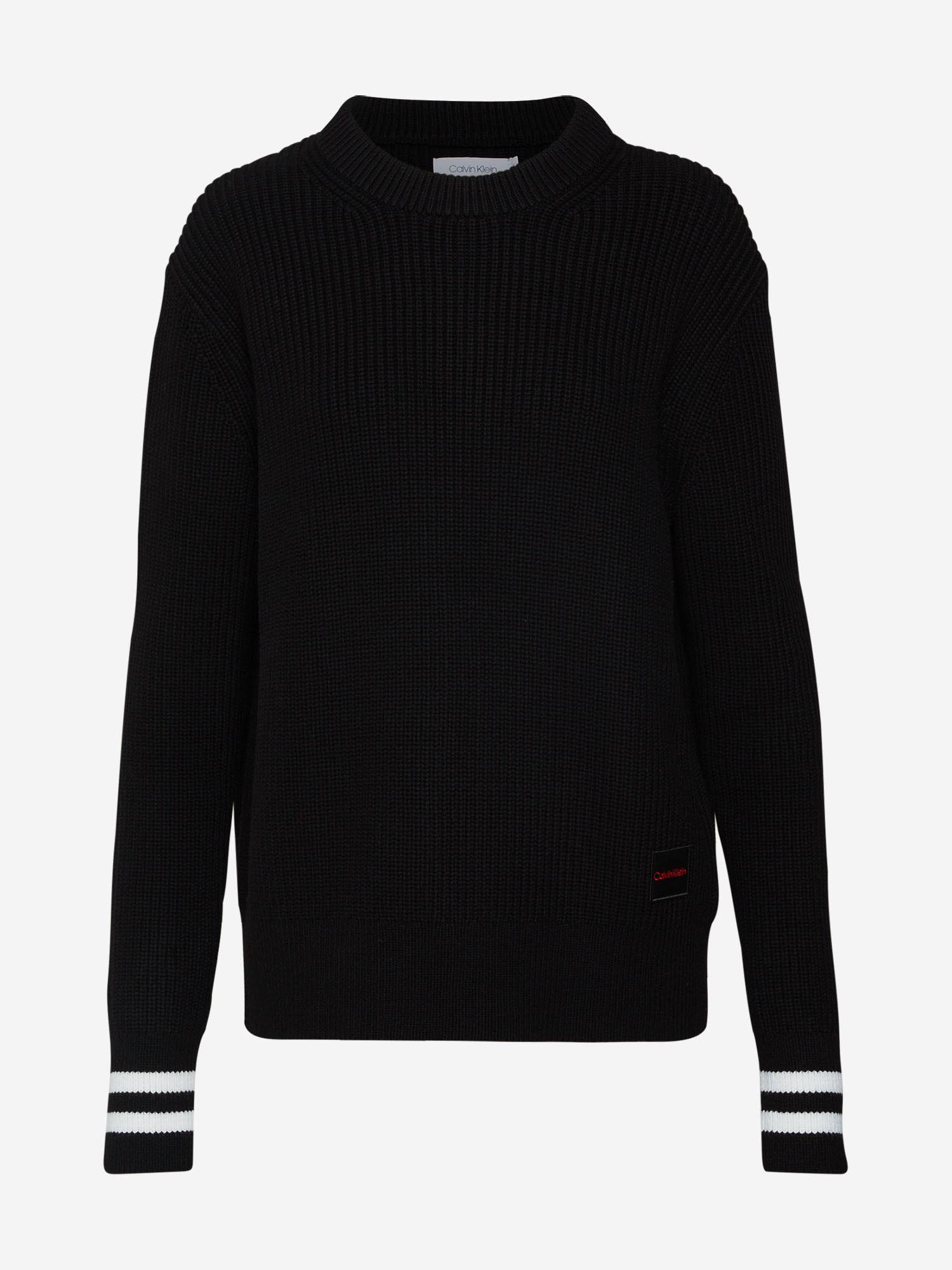 Calvin Klein Pullover Damen Schwarz Weiss Grosse Xl In 2020 Calvin Klein Pullover Pullover Damen Und Pullover