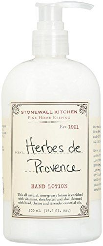 Stonewall Kitchen Herbes De Provence Hand Lotion 169 Ounce Bottle