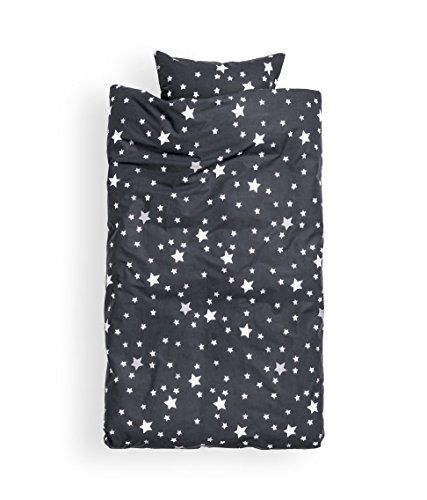 toddler bedding twin duvet quilt cover 2pc set star print 100 cotton kids