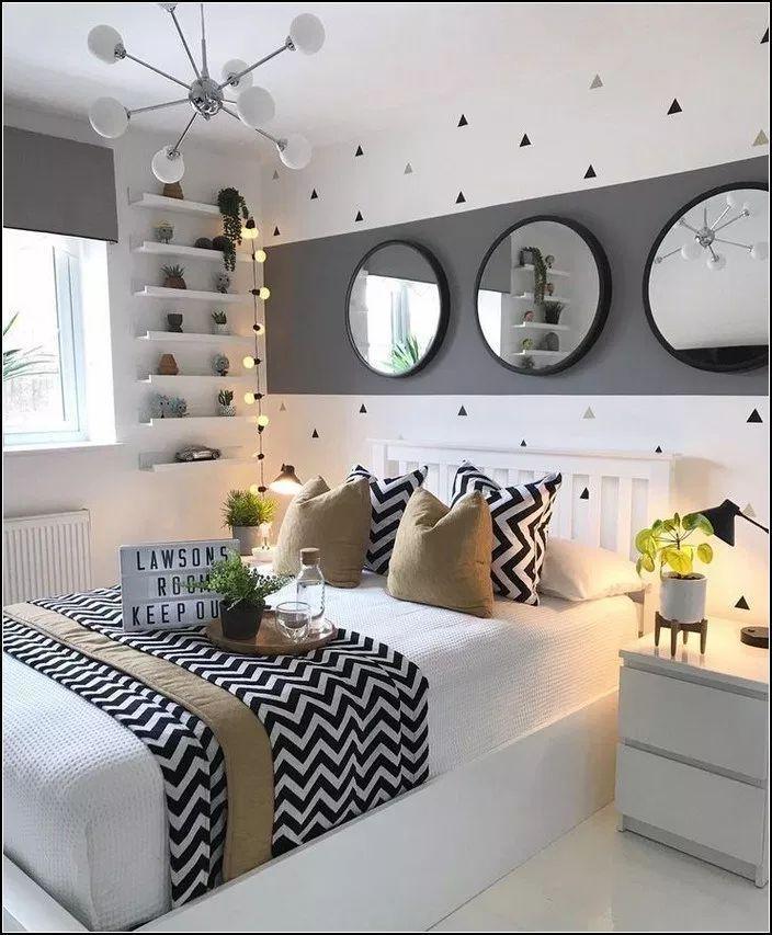 Photo of 132 wunderschöne Deko-Ideen für Schlafzimmer – Seite 29 »myyhomedecor.com – #DekoIdeen #Für – Wohnaccessoires – Blog