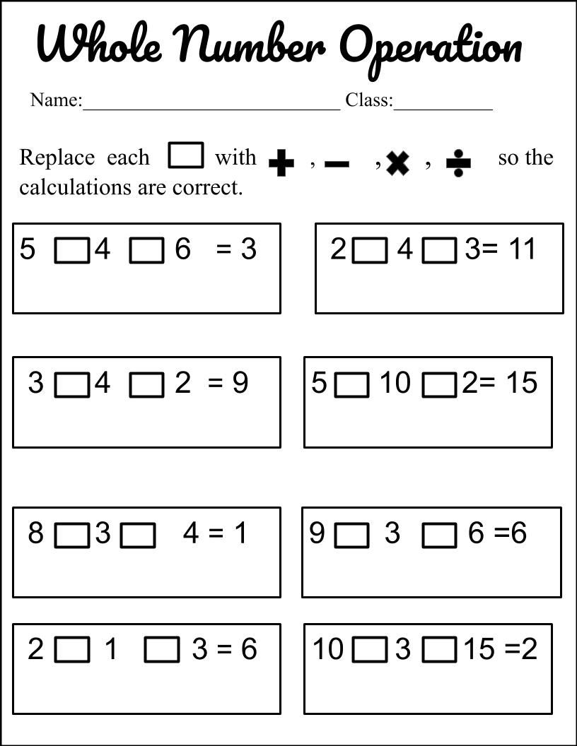 Order Of Operation Teaching Mathematics Order Of Operations Common Core Math Fractions [ 1056 x 816 Pixel ]
