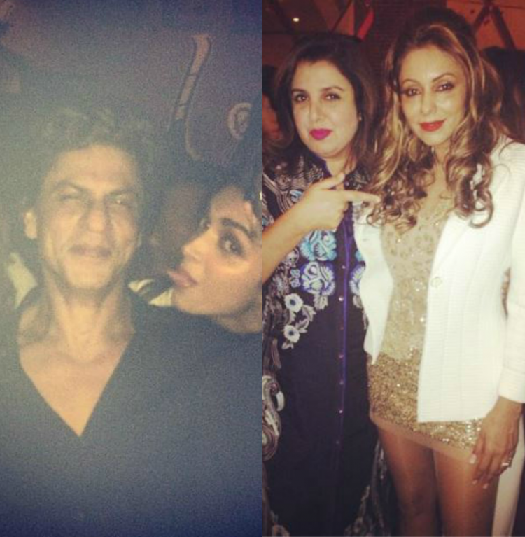 Photos SRK's rocking birthday bash at Mannat Birthday
