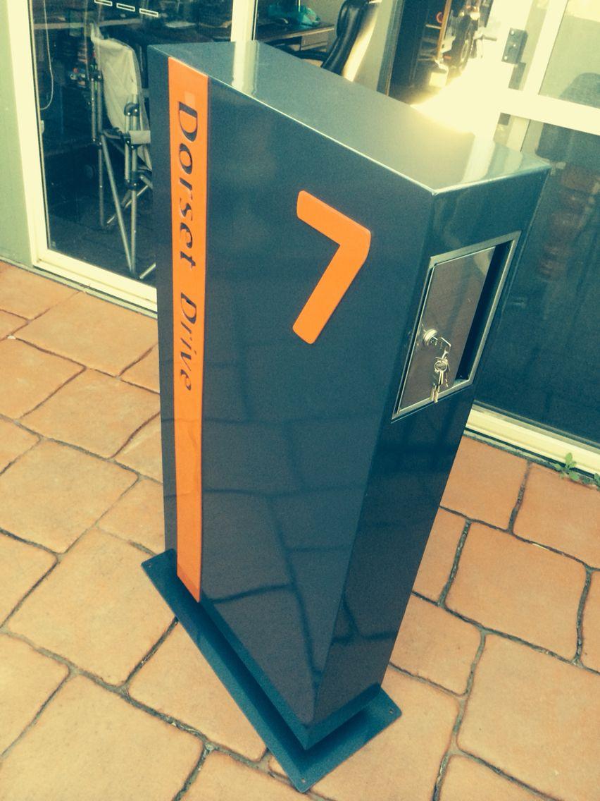 custom letterbox custom decorative metal work custom letter box heavy duty 3mm thick steel used