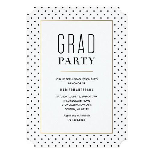 City Chic Graduation Invitation Zazzle FineandDandyPaperie – Zazzle Graduation Invitations