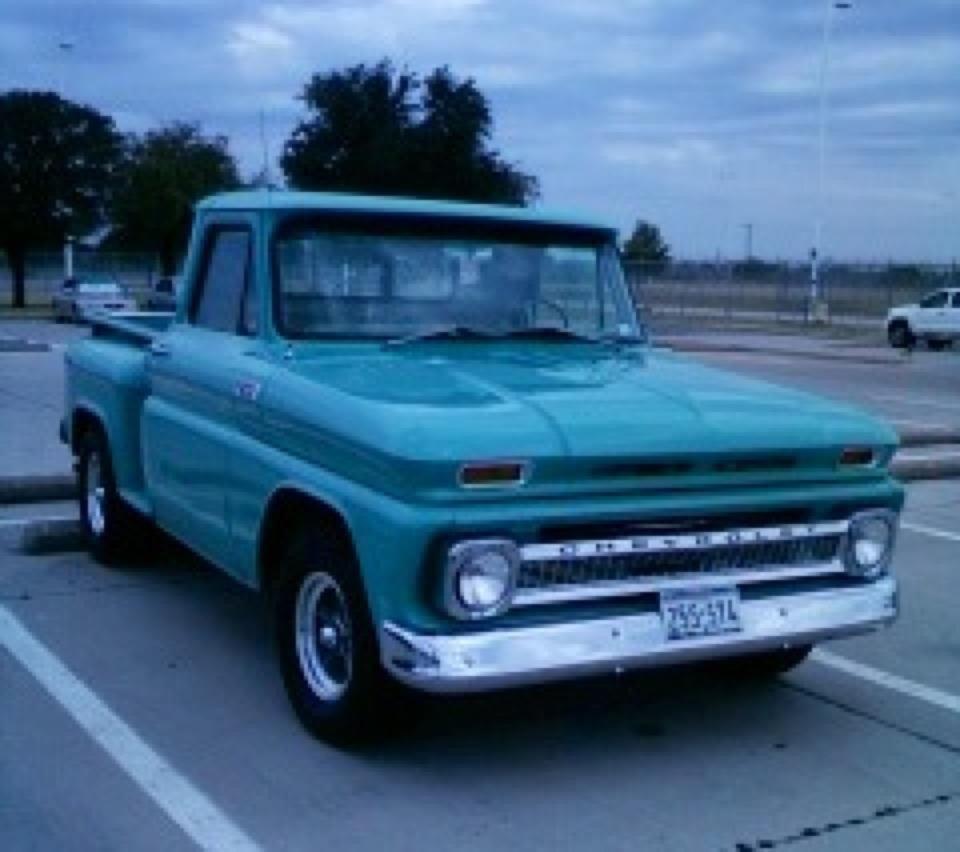 1966 Chevy Stepside Truck Classic Chevy Trucks Vintage Trucks