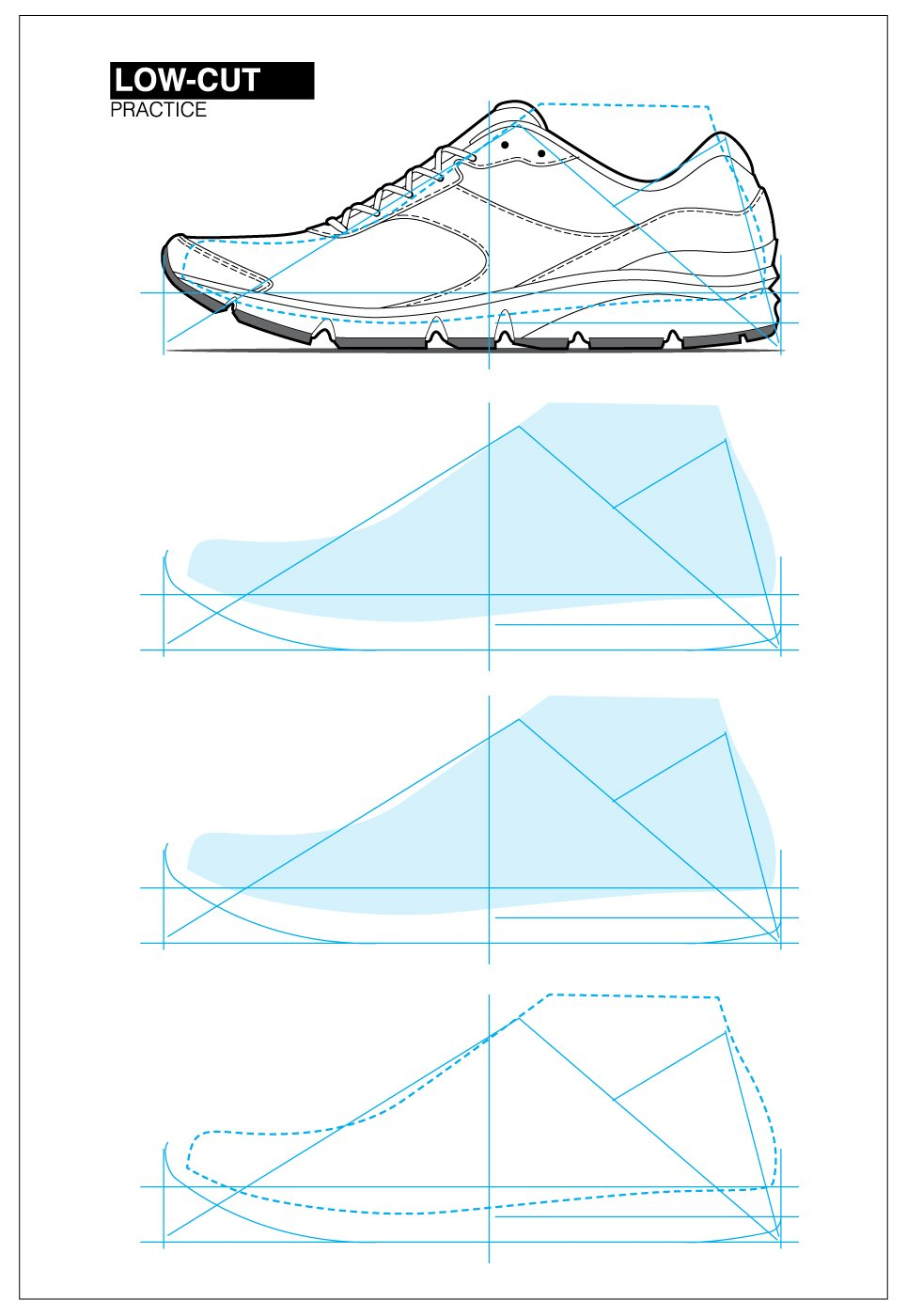 How To Draw Athletic Shoes Sketchbook Pdf Shoe Design Sketches Sneakers Sketch Shoe Sketches