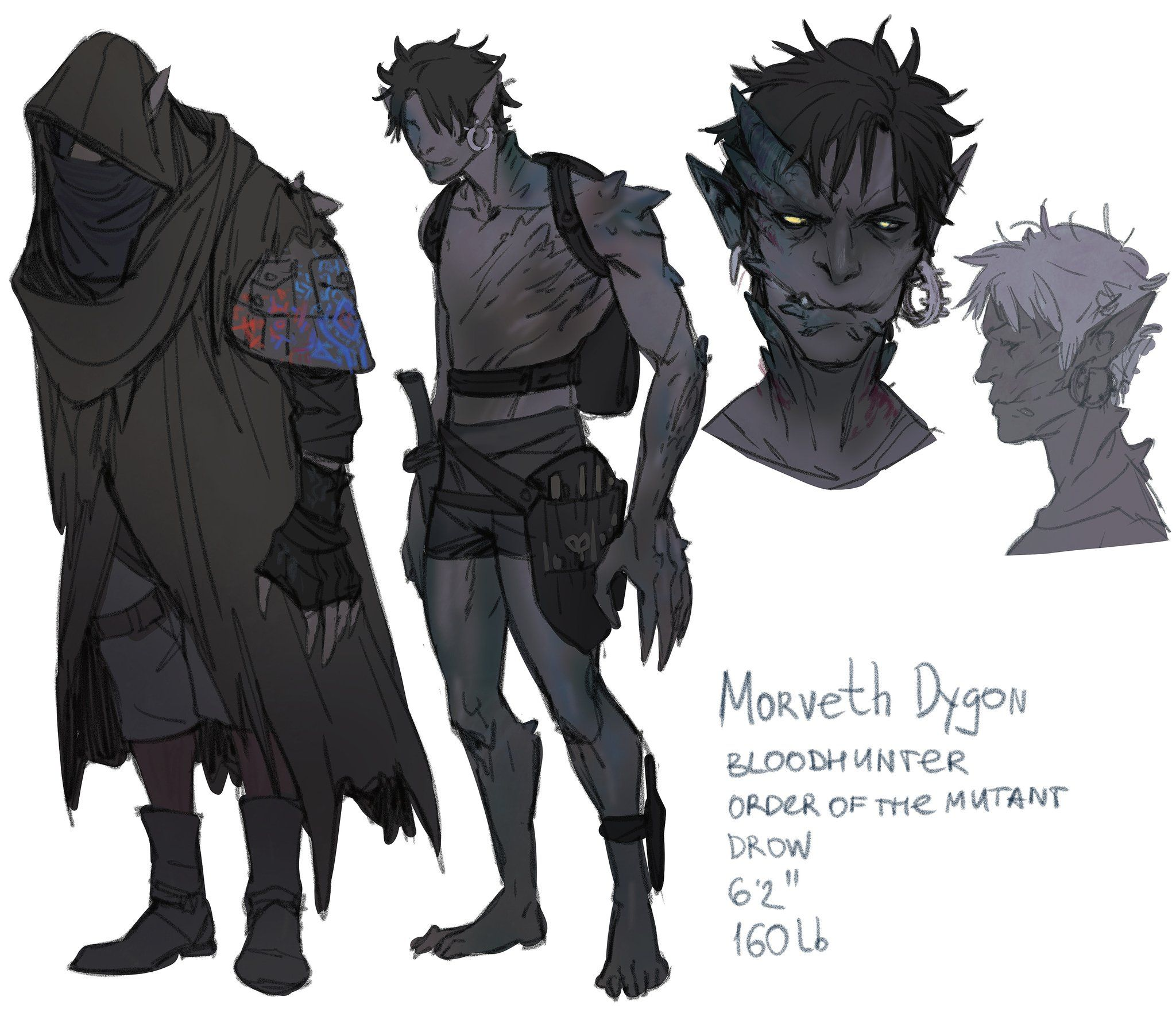 Pin on D&D Characters Elves & Drow