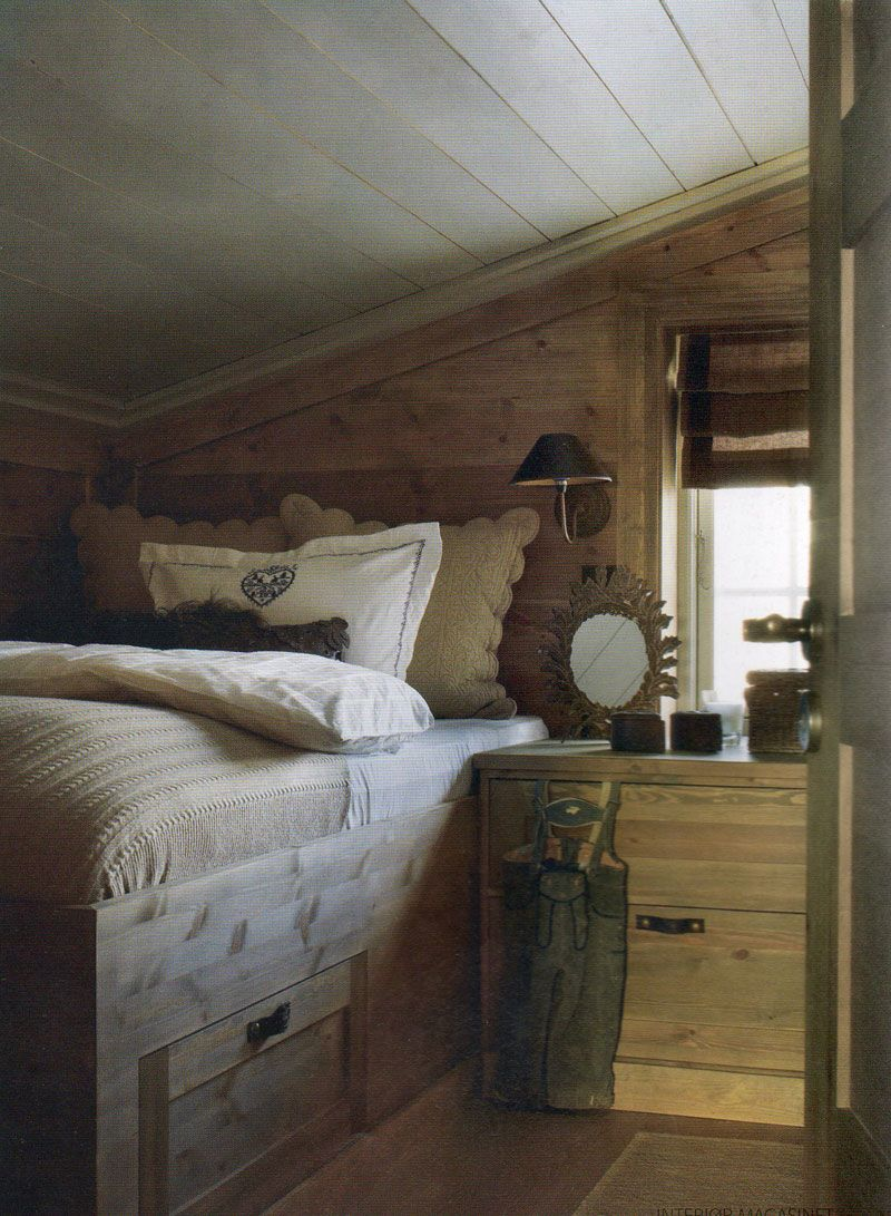 The essence of the good life my mountain cabin dream sun valley pinterest cabin and - The rustic attic ...