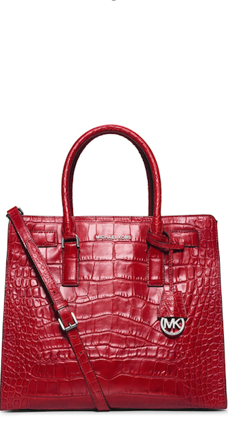 1817e77637903 My honey got me this for Valentines Day! Michael Kors RED Dillion ...