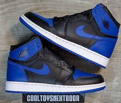 2017 Nike Air Jordan 1 Nike Retro High Og Royal Blue 2017 Nike Air Jordan 1 High Og Black Royal 555088 007 Size 8 Air Jordans Nike Air Nike Air Jordan Retro