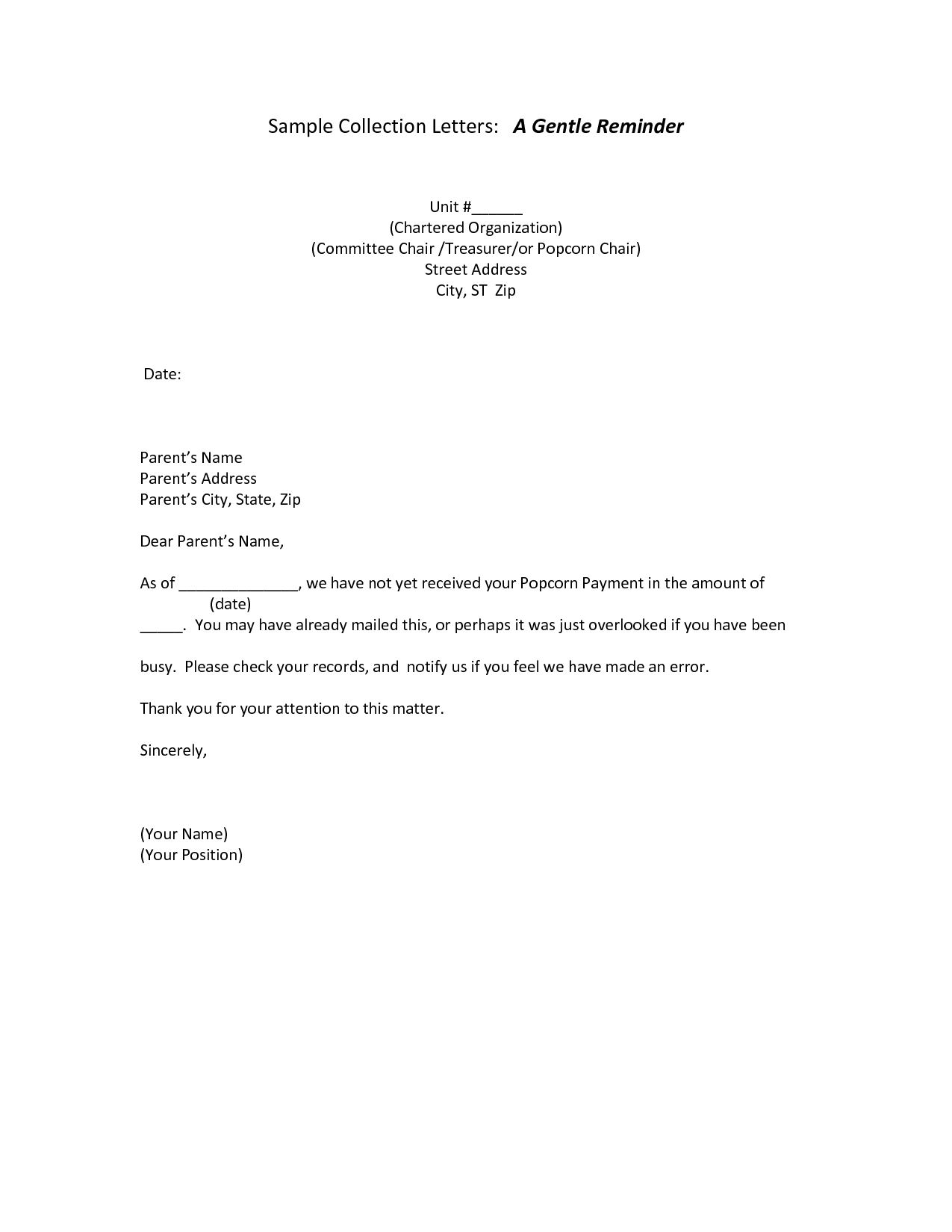 appointment letter sample patient reminder template examples free ...