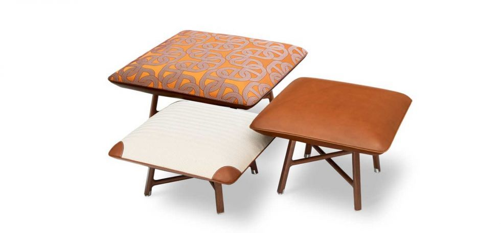 Carre D Assise Low Stool By Hermes Is Now Available In India