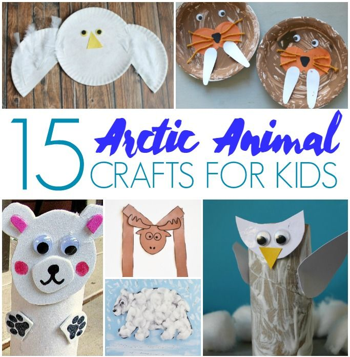 27 Easy And Fun Arctic Animal Crafts For Kids Arctic Animals Crafts Animal Crafts Preschool Animal Crafts For Kids