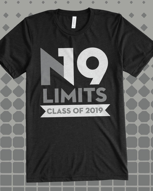 N19 Limits Class Of 2019 Class Shirt Design Idea For