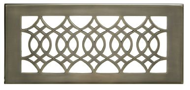 Strathmore Antique Brass 4 X 10 68 Wall Registers Floor