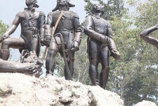 L Histoire Des Antilles Et De L Afrique Mai 2011 Color Wave Haiti Lion Sculpture