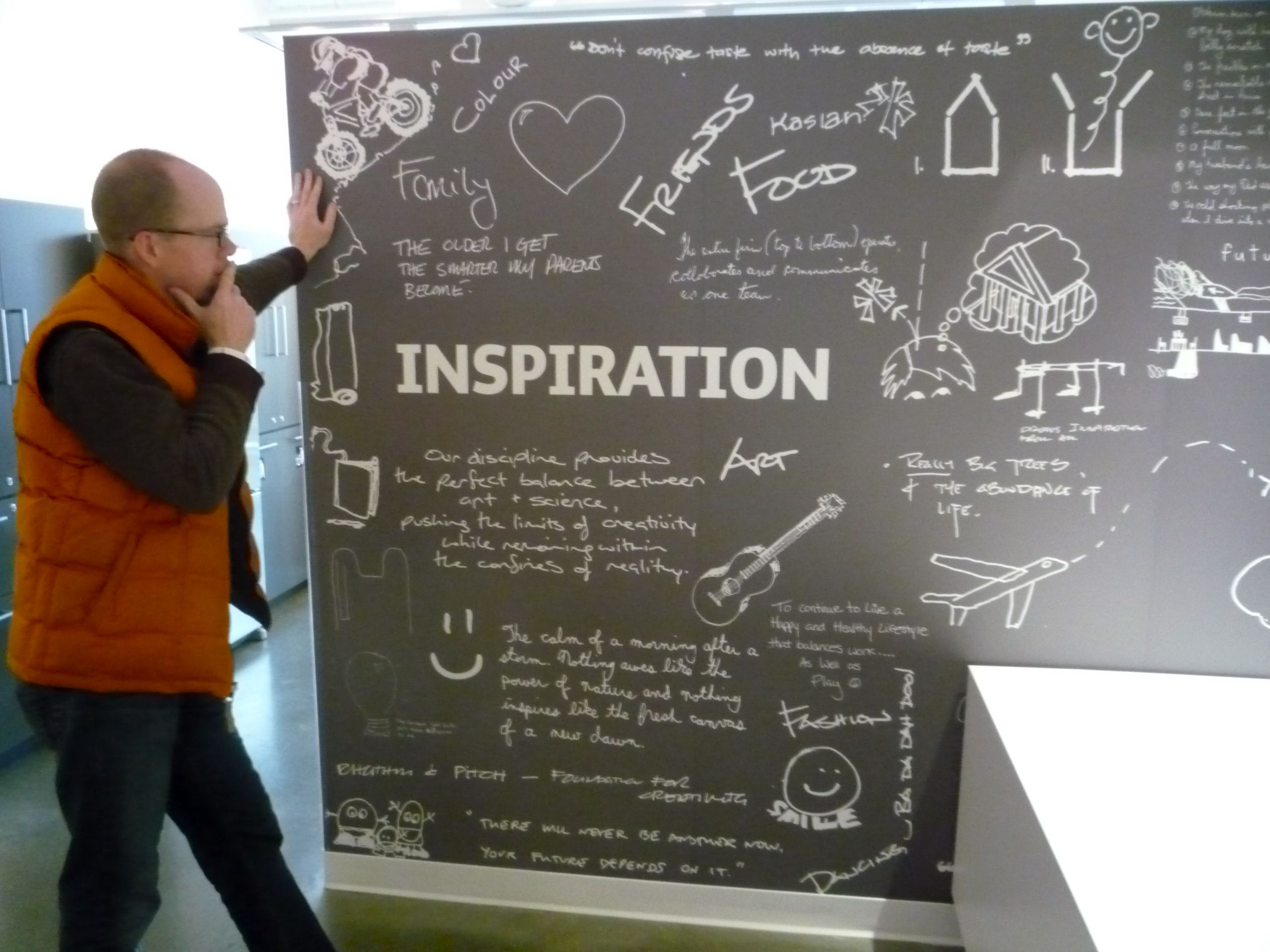 chalkboard office. They Really Loved Their Chalk Board Brain Storming At The Office. What If Chalkboard Office E