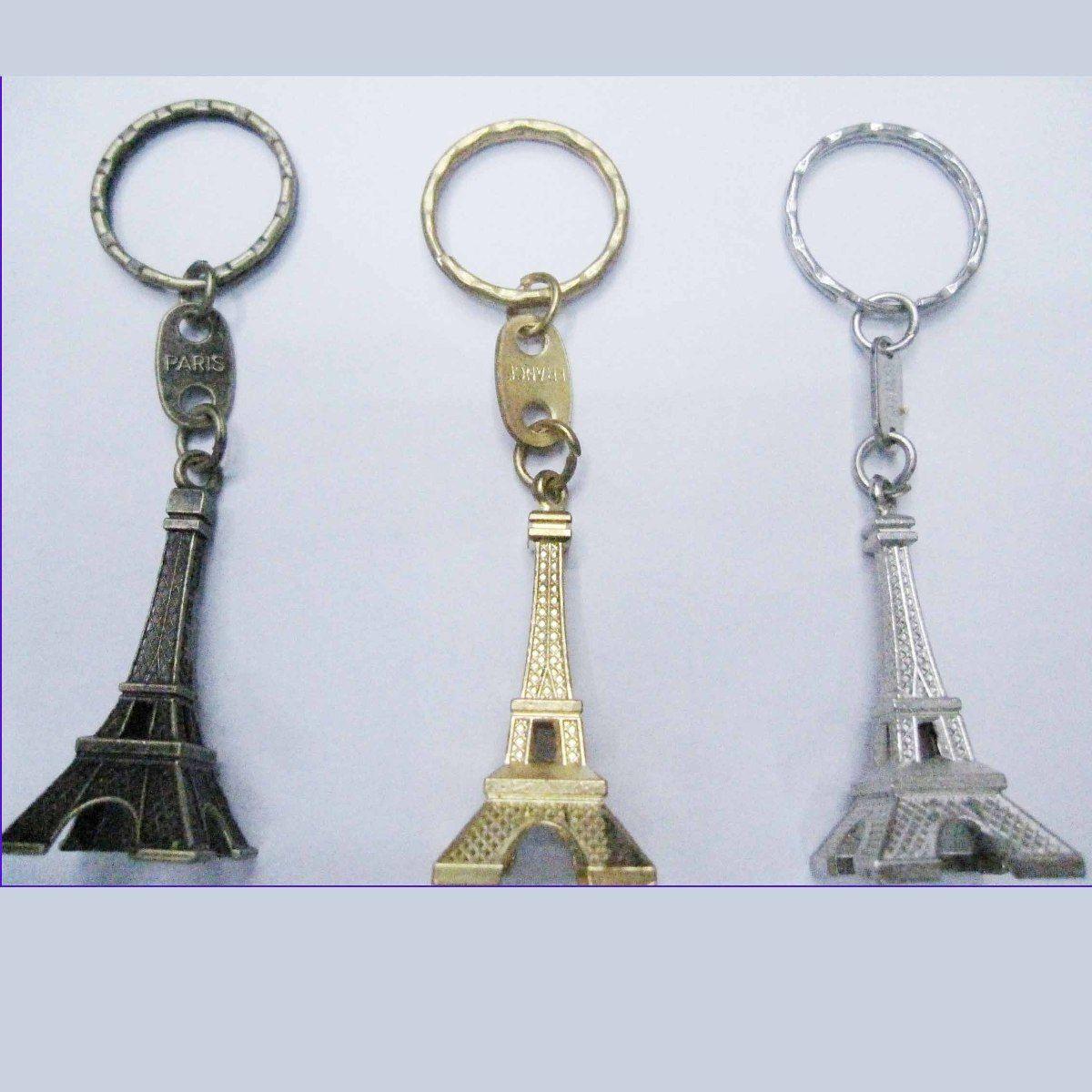 Llavero Torre Eiffel Paris Recuerdo Colección X Volumen