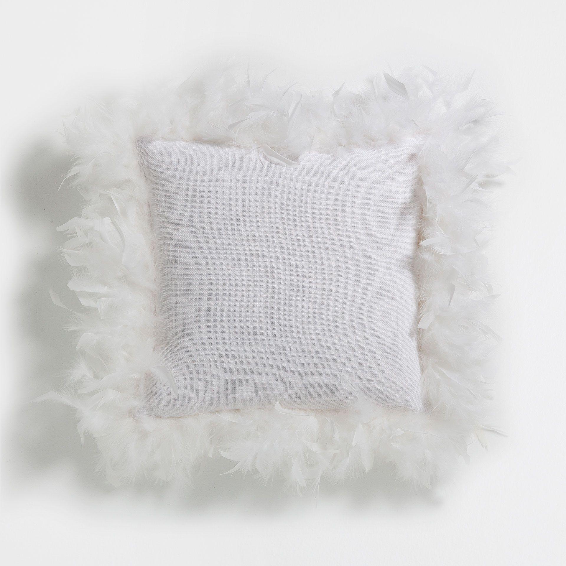 White   Coral pillows