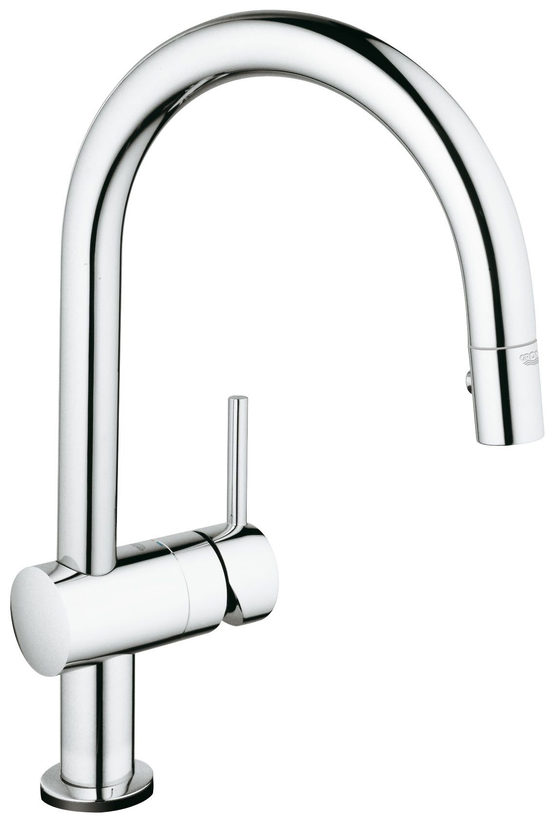 Lavelli Grohe Minta Pull Down Touch Single Handle Kitchen Faucet With Silkmove
