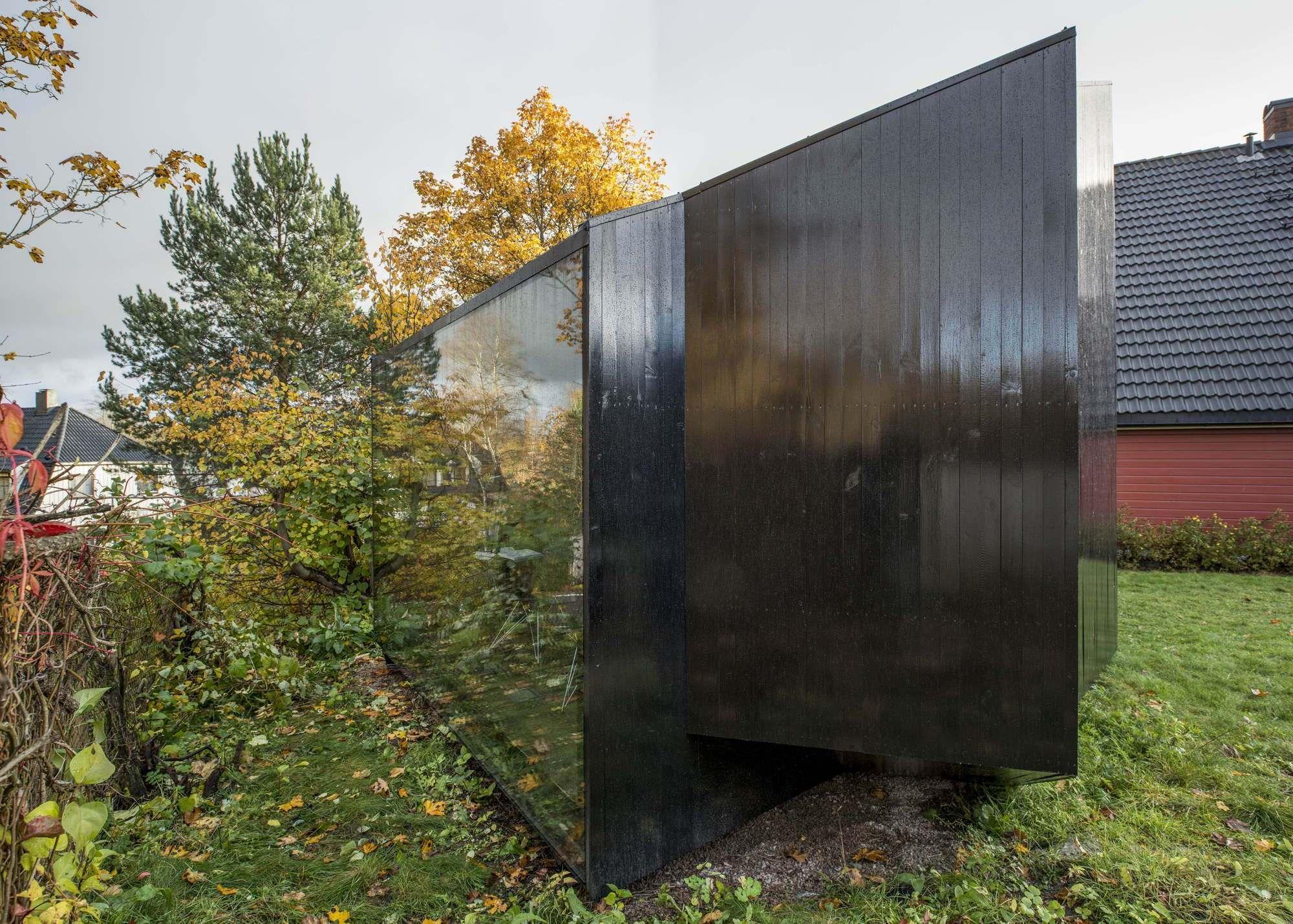 Schreibstube Für Zwei   Mini Haus In Norwegen