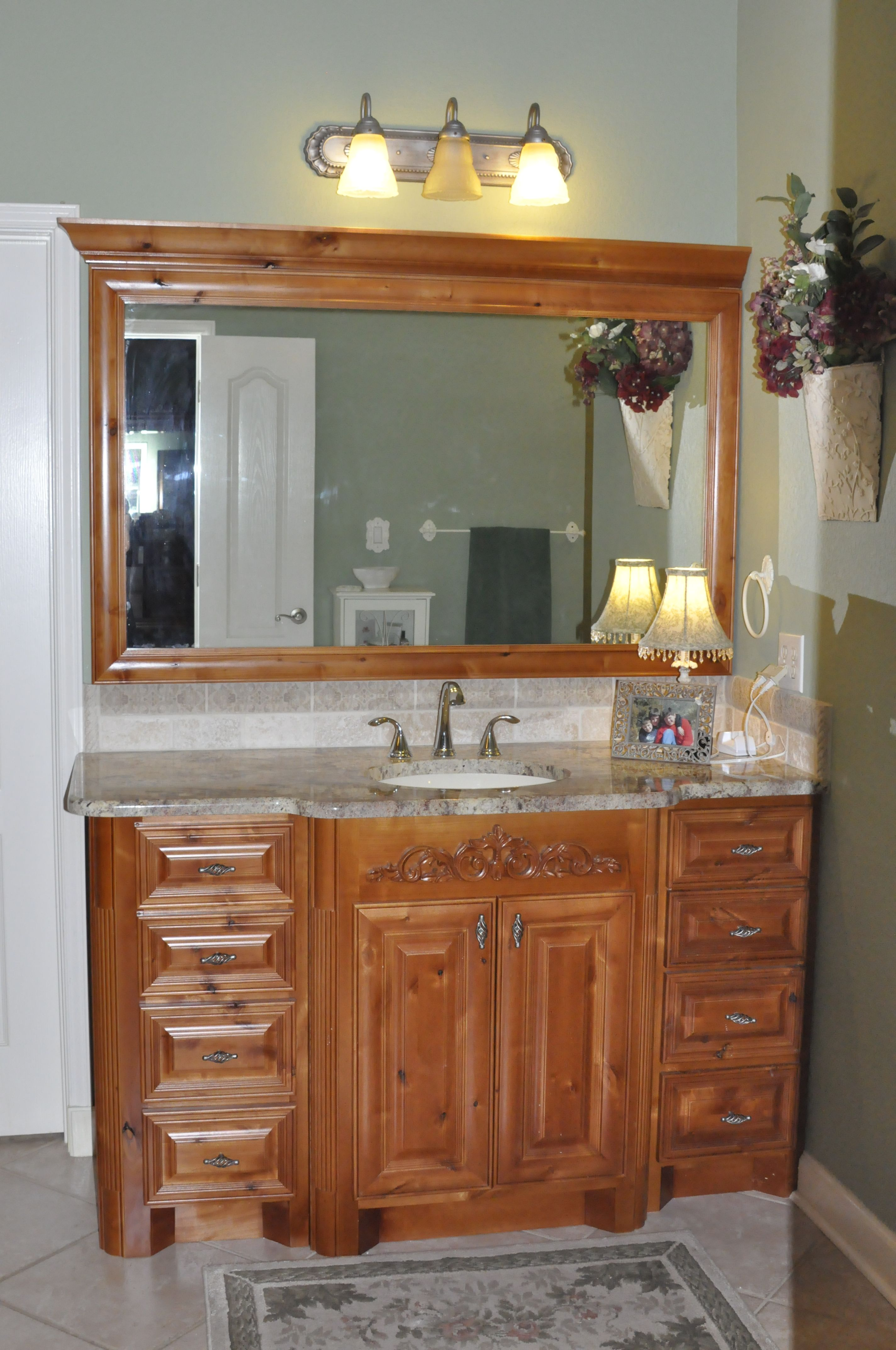 Knotty Alder Wood Cabinets Knotty Alder Wood Cabinets Stained A Golden Oak Bathroom