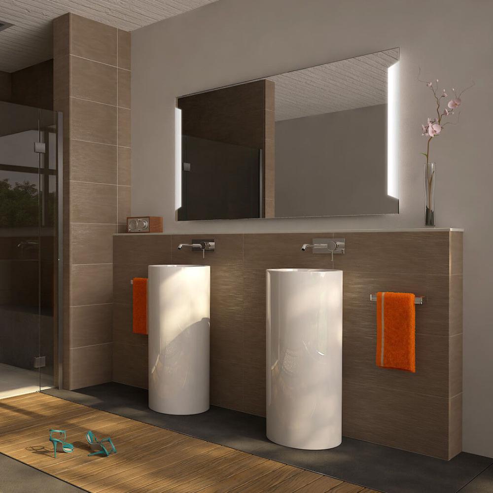Wandspiegel Aeros 989709189 Badezimmerspiegel Beleuchtet Badezimmerspiegel Badspiegel