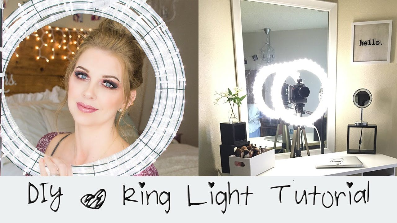 DIY Ring Light Tutorial Diva Light Do it yourself