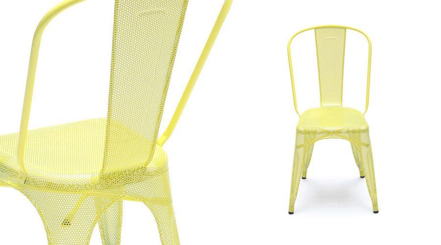 Chaise A Perforee Tolix Xavier Pauchard Decor Furniture
