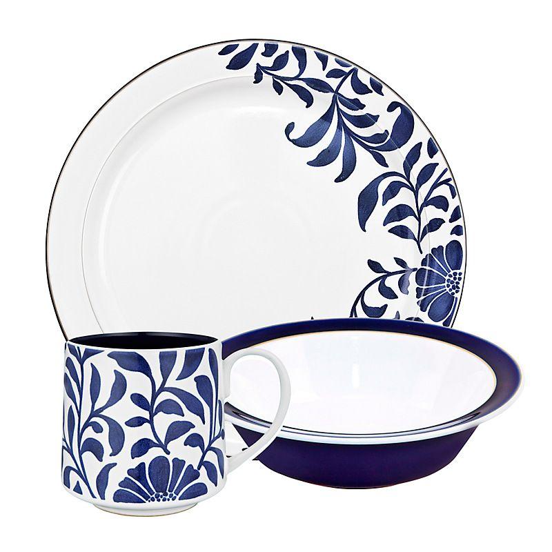 Buy Denby Malmo Tableware online at John Lewis Denby Pinterest