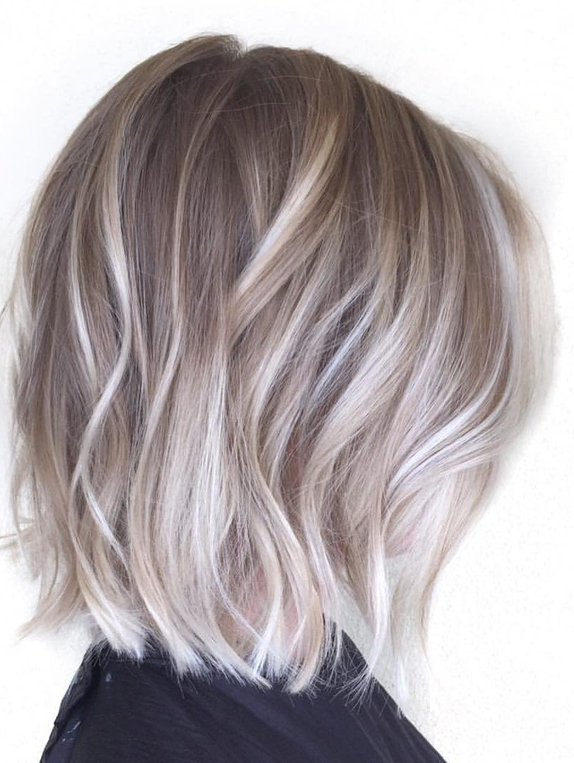 54 Cream Blonde Hair Color Ideas For Short Haircuts In Spring In 2020 Grey Ombre Hair Cream Blonde Hair Short Ombre Hair
