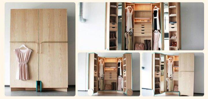 Closet para quem tem pouco espaço